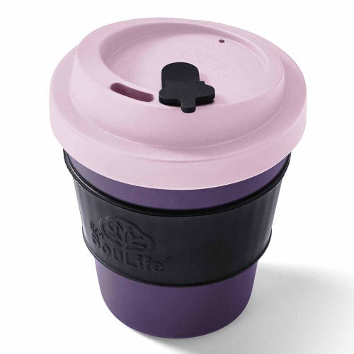 EcoSouLife Reusable Bio Sip Cup - Berry (12oz)