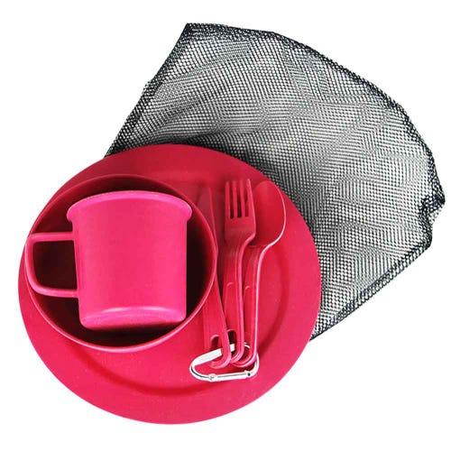 EcoSouLife Reusable Camping Set - Pink