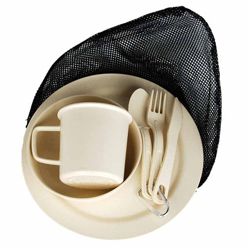 EcoSouLife Reusable Camping Set - Sand