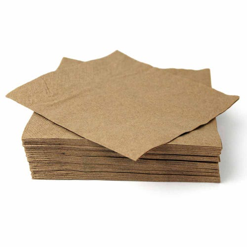 EcoSouLife Recycled Paper Napkins (50 Pack)