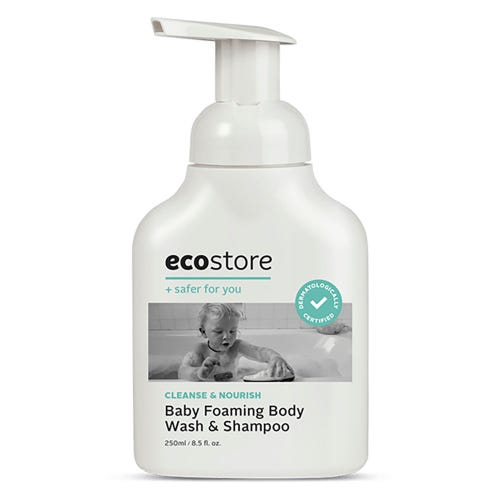 ecostore Baby Foaming Body Wash & Shampoo (250ml)