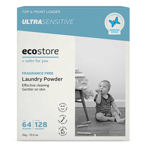ecostore Laundry Powder Fragrance Free (2kg)