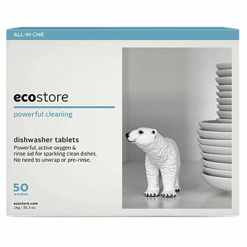 ecostore Dishwasher Tablets - 50 Washes (1kg)