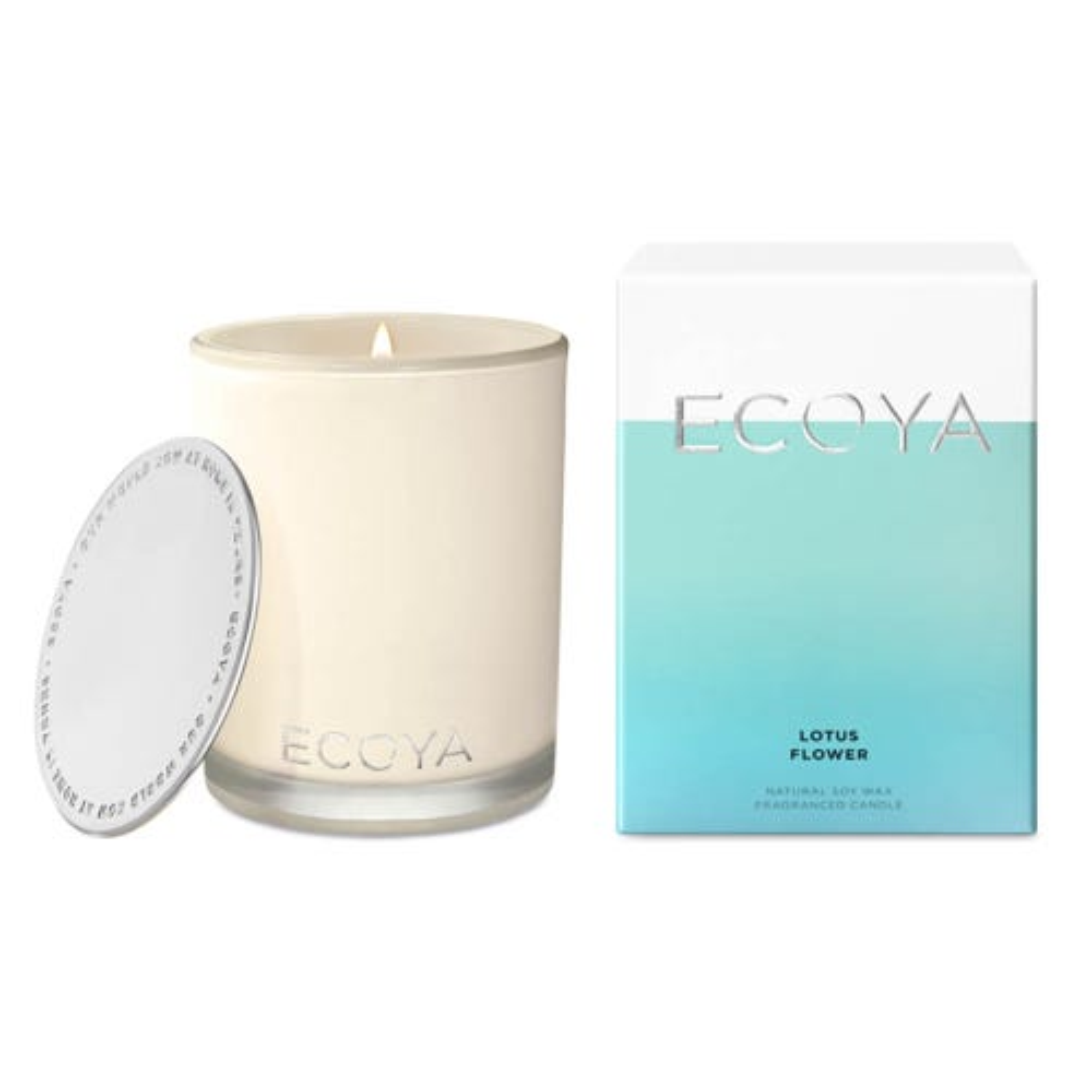 ECOYA Madison Jar Candle - Lotus Flower