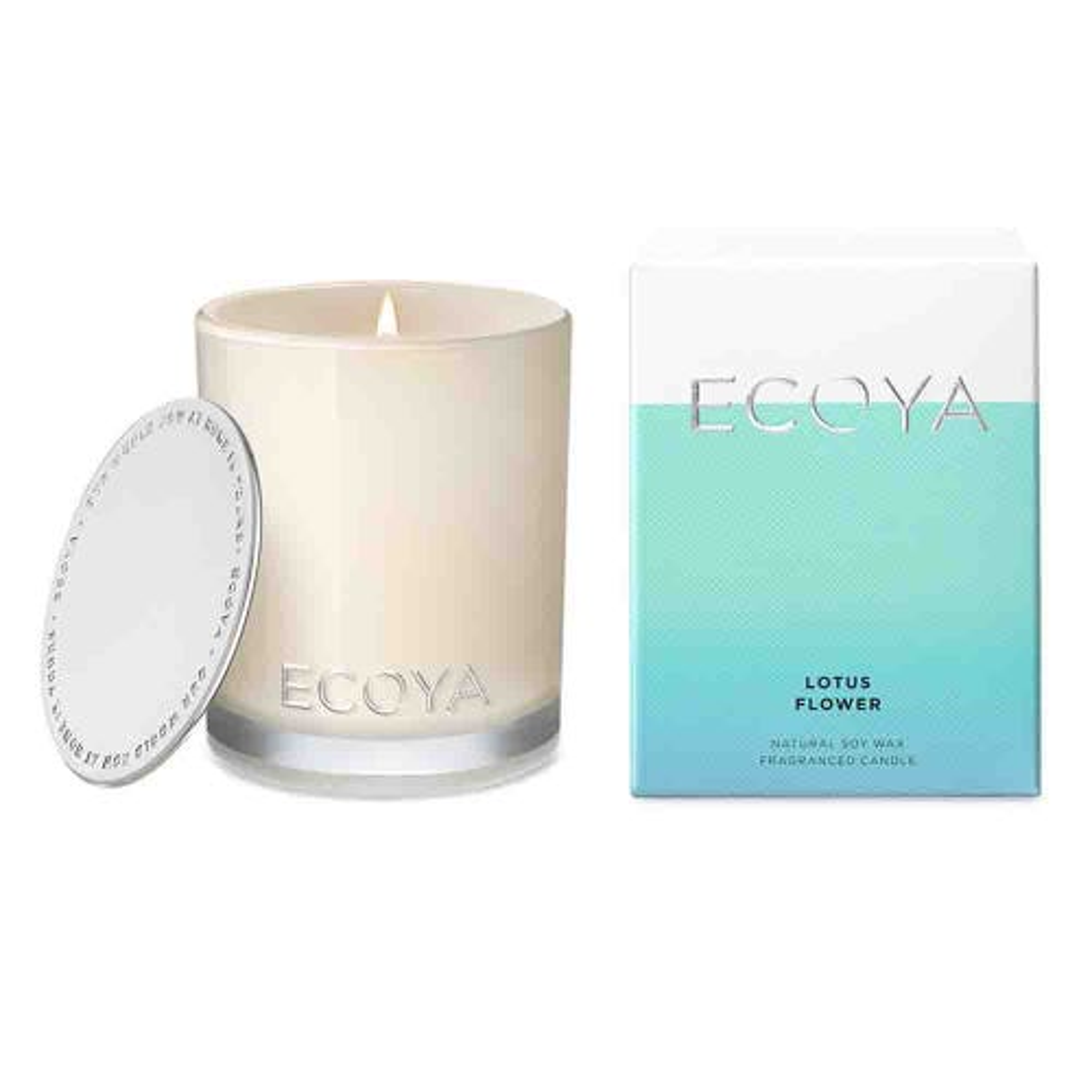 ECOYA Mini Madison Jar Candle - Lotus Flower