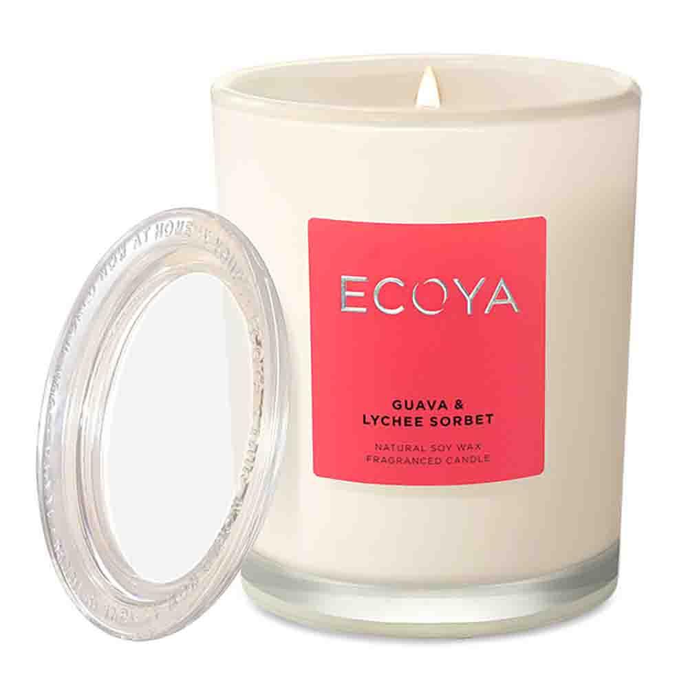 ECOYA Metro Jar Candle - Guava & Lychee