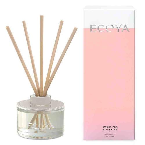 ECOYA Mini Reed Diffuser - Sweet Pea & Jasmine
