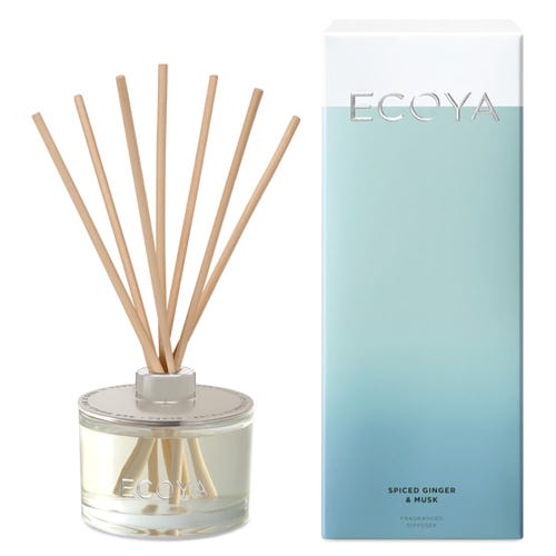 ECOYA Reed Diffuser - Spiced Ginger & Musk (200ml)