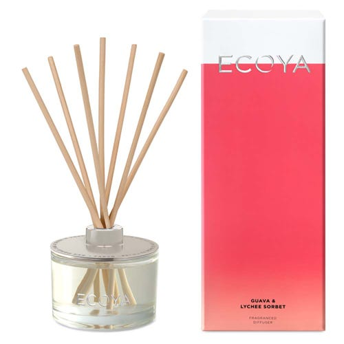 ECOYA Reed Diffuser - Guava & Lychee (200ml)