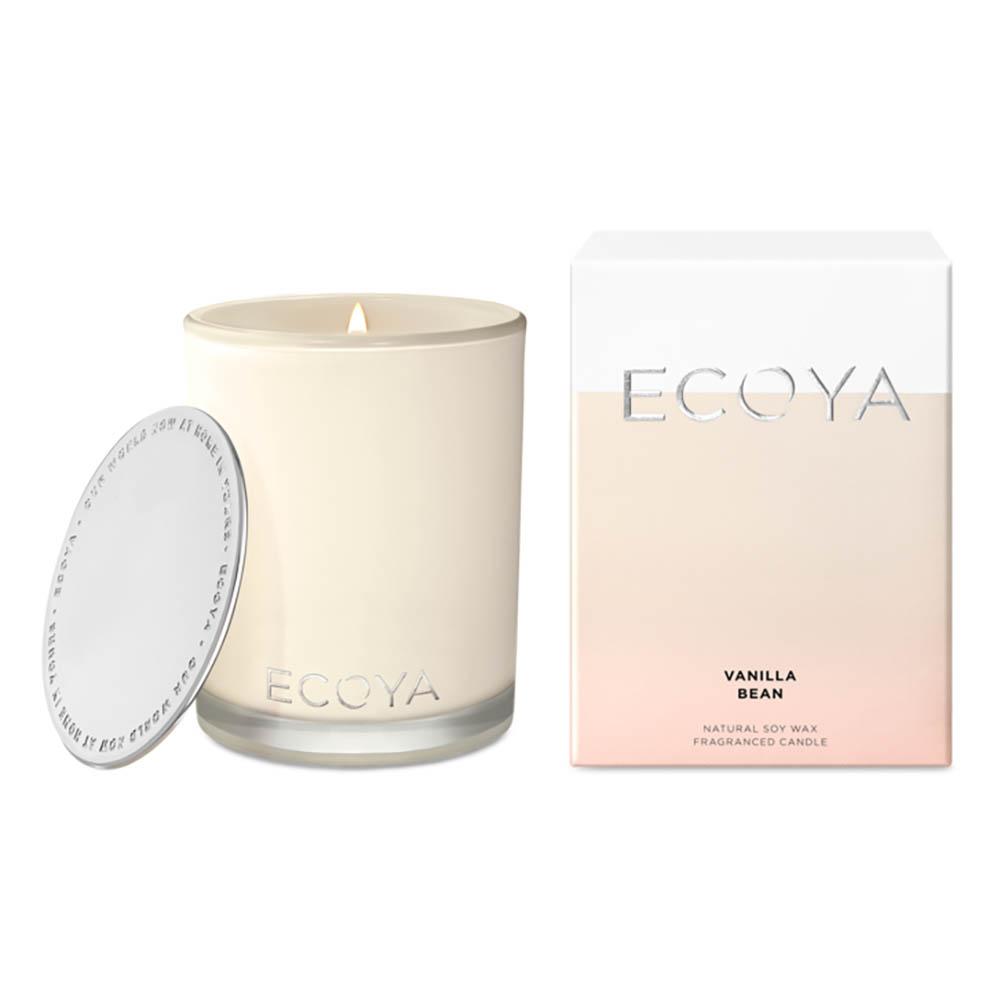 ECOYA Madison Jar Candle - Vanilla Bean