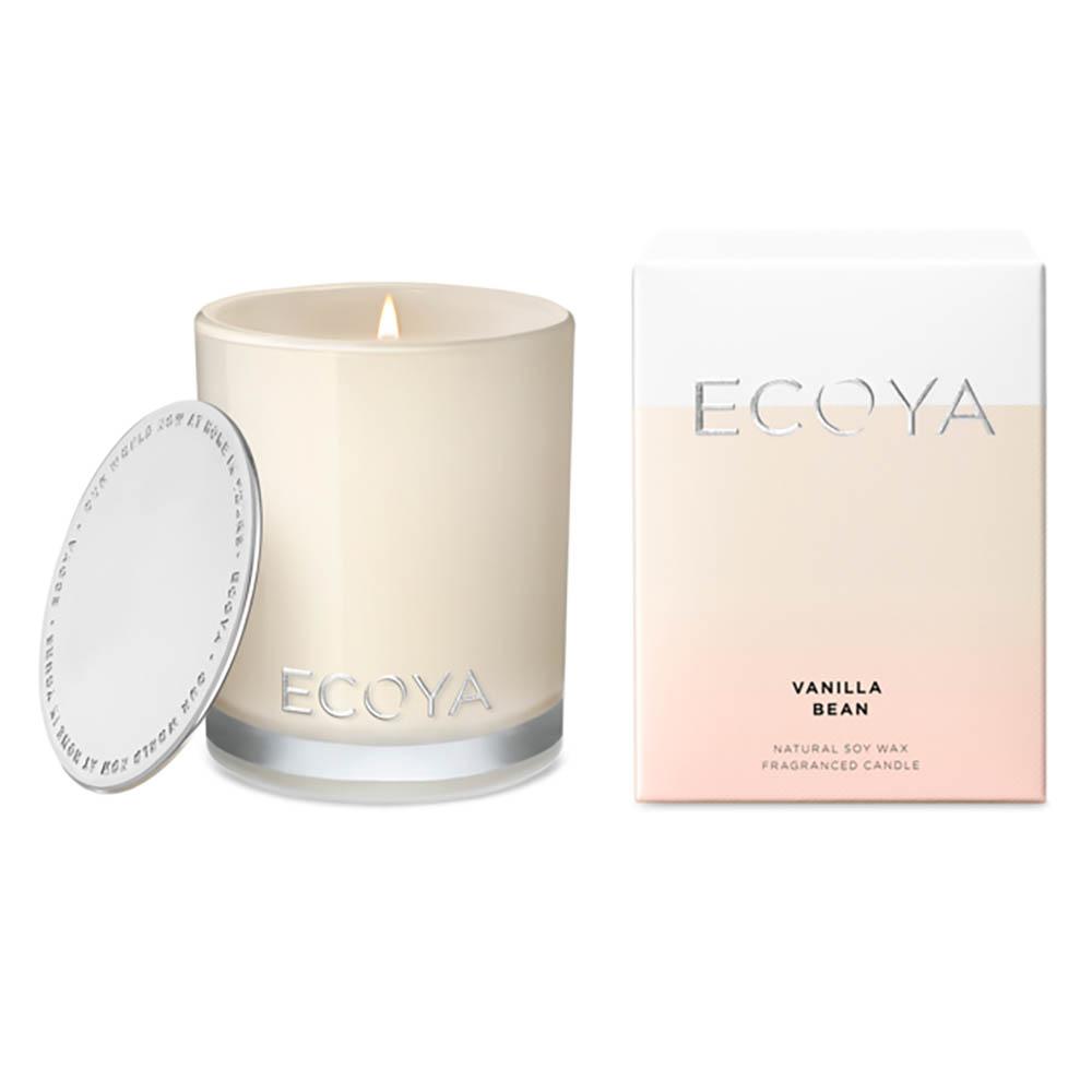ECOYA Mini Madison Jar Candle - Vanilla Bean