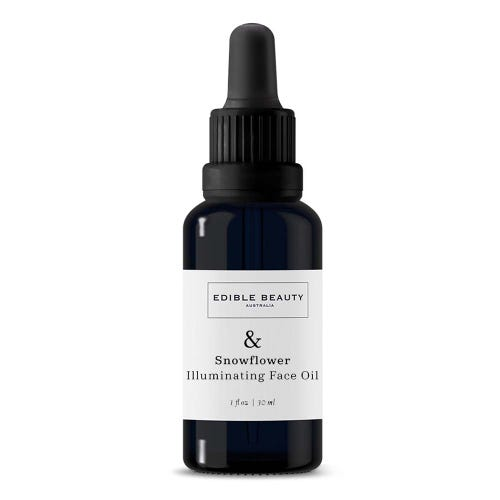 Edible Beauty & Snowflower Illuminating Face Oil (30ml)