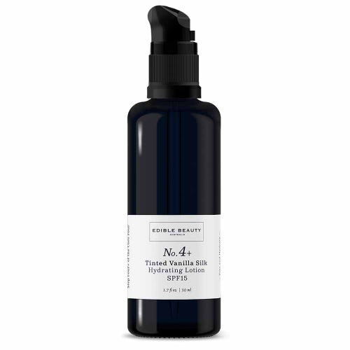 Edible Beauty No.4+ Tinted Vanilla Silk Hydrating Lotion SPF15 (50ml)