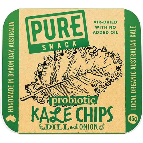 Extraordinary Foods Dill & Onion Kale Chips (45g)