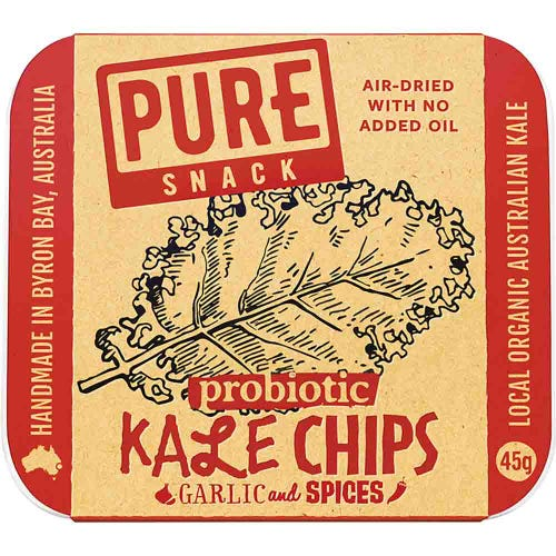 Extraordinary Foods Garlic & Spices Kale Chips (45g)