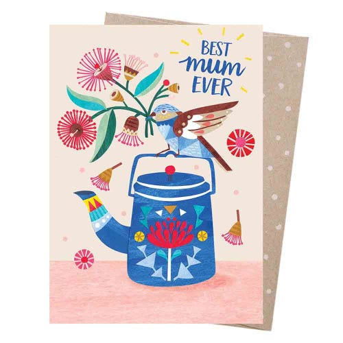 Earth Greetings Blank Card - Best Mum Ever