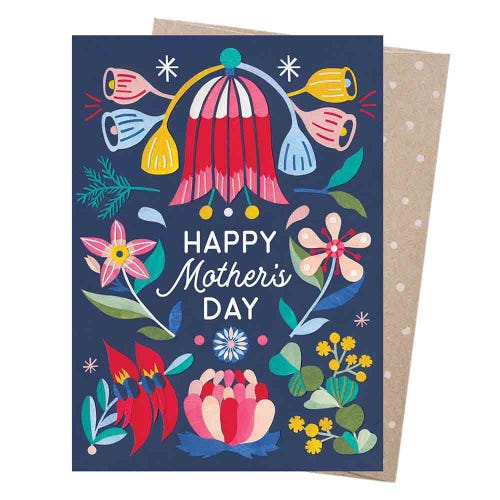 Earth Greetings Blank Card - Mother's Day Blooms