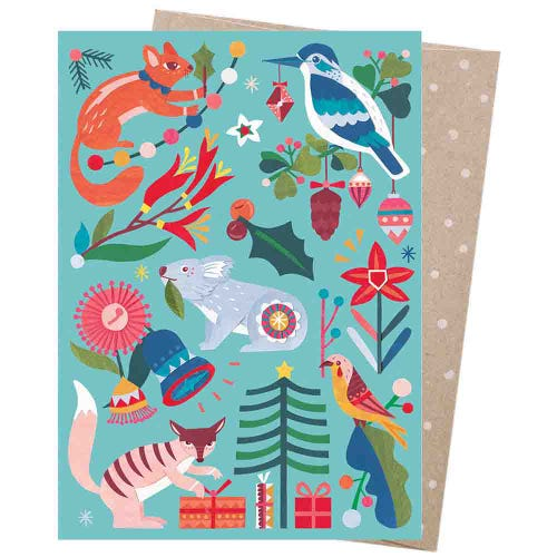 Earth Greetings Christmas Card - Nature's Gift