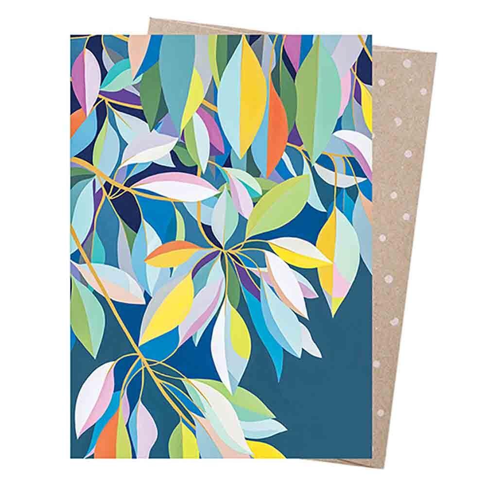 Earth Greetings Blank Card - Moreton Bay Fig