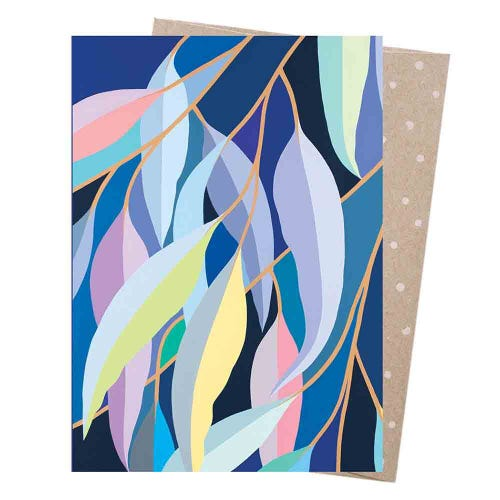 Earth Greetings Blank Card - Moonlit Gum