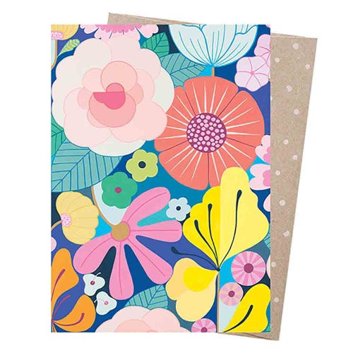 Earth Greetings Blank Card - Summer Garden