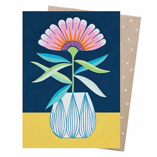 Earth Greetings Blank Card - The Bright One