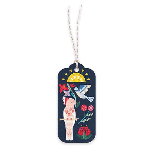 Earth Greetings Gift Tag - Wild Natives