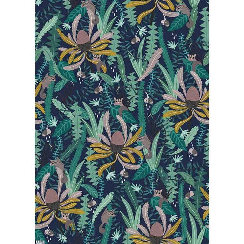 Earth Greetings Wrapping Paper - Night Gliders (1 Sheet)