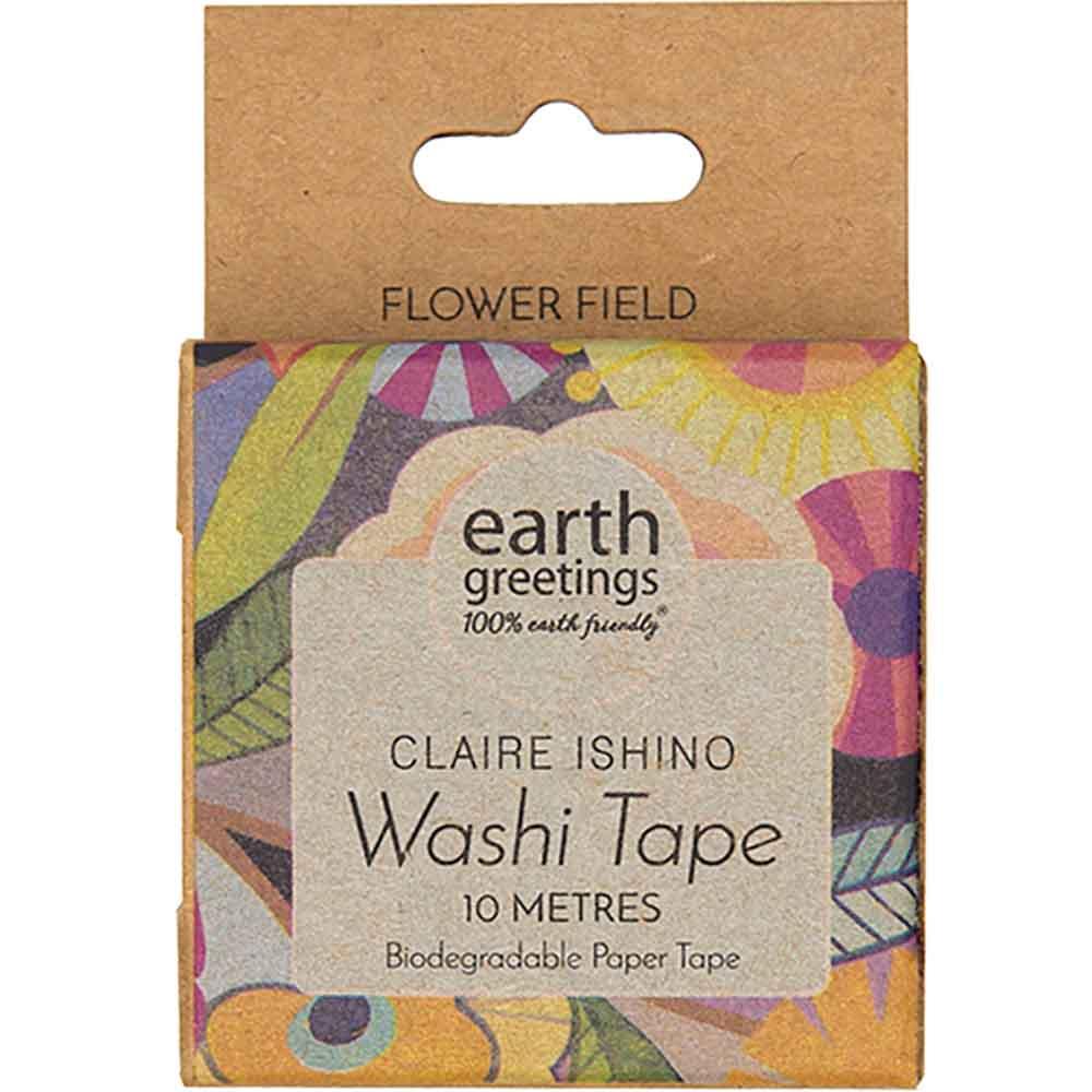 Earth Greetings Washi Tape - Flower Field