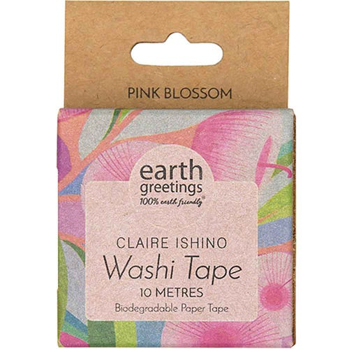 Earth Greetings Washi Tape - Pink Blossom