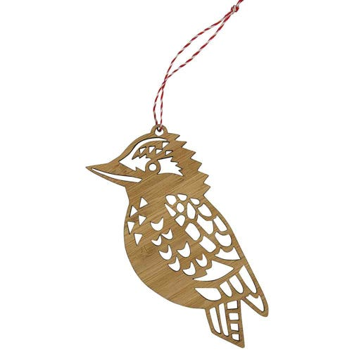 Earth Greetings Bamboo Decoration - Kookaburra
