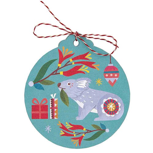 Earth Greetings Christmas Gift Tags - Nature's Gift (8 Tags)