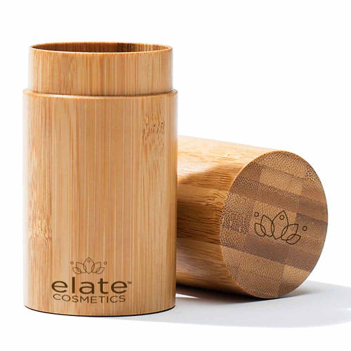 Elate Bamboo Brush Canister