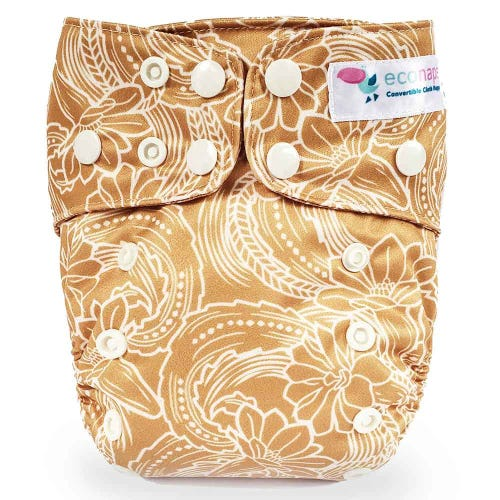 EcoNaps Reusable Cloth Nappy - Desert Cactus