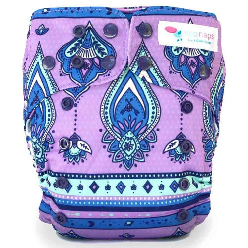 EcoNaps Reusable Cloth Nappy - Wild Gypsy
