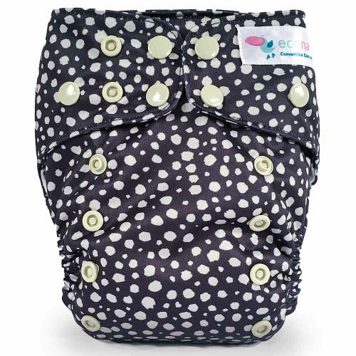 EcoNaps Reusable Cloth Nappy - Moonstone