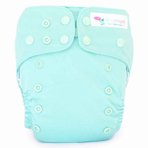 EcoNaps Reusable Cloth Nappy - Turquoise Sea