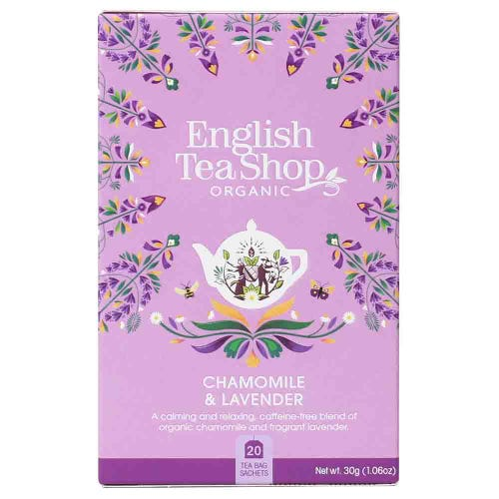 English Tea Shop Organic Chamomile & Lavender