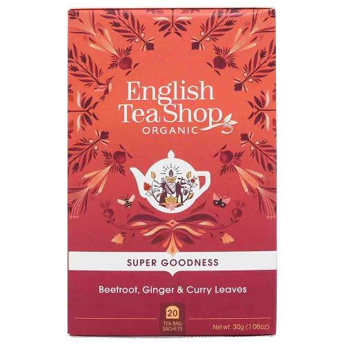 English Tea Shop Organic Beetroot, Ginger & Curry Leaves Tea
