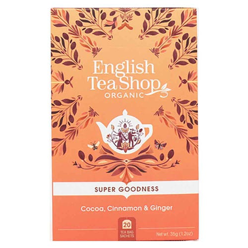 English Tea Shop Organic Cocoa, Cinnamon & Ginger
