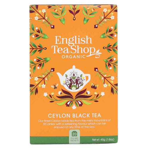 English Tea Shop Organic Ceylon Black Tea