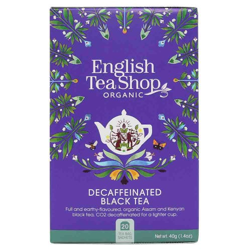 English Tea Shop Organic Decaffeinated Black Tea