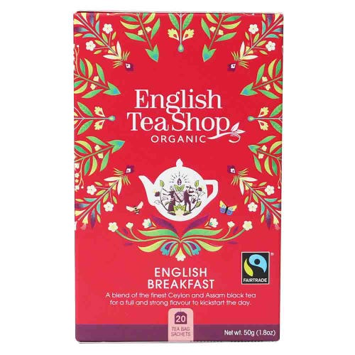English Tea Shop Organic English Breakfast Tea