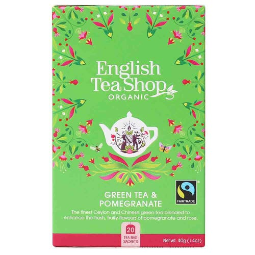 English Tea Shop Green Tea & Pomegrate