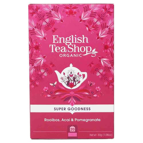 English Tea Shop Organic Rooibos, Acai & Pomegranate
