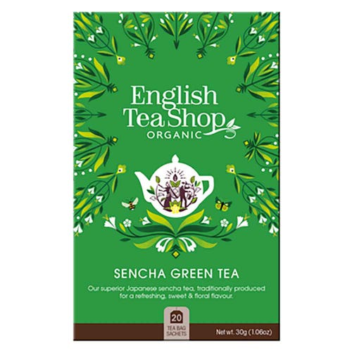English Tea Shop Organic Sencha Green Tea