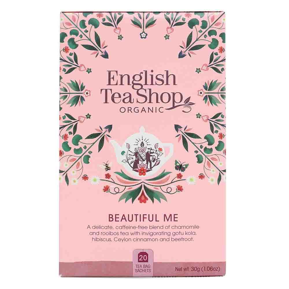 English Tea Shop Organic Wellness Beautiful Me Tea