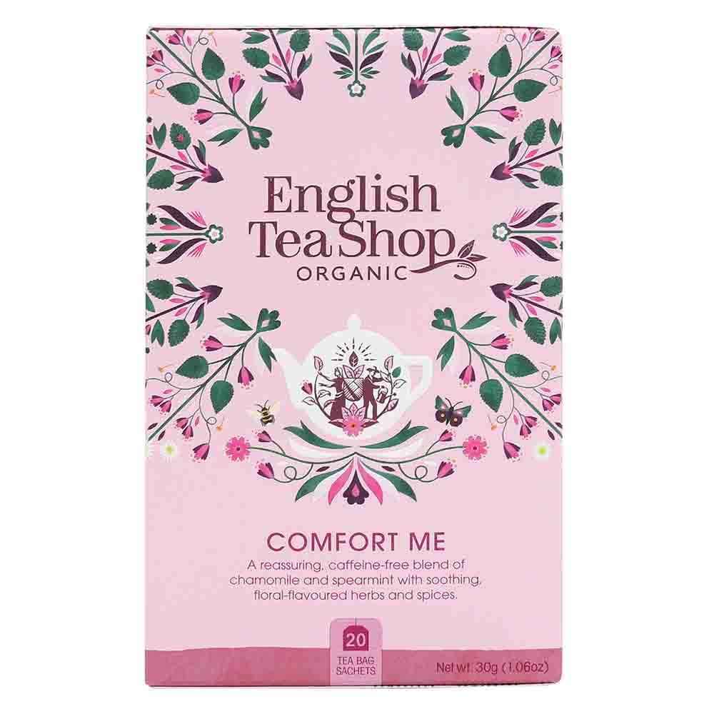 English Tea Shop Organic Wellness Comfort Me Tea