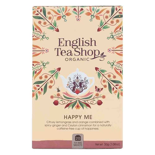 English Tea Shop Organic Happy Me Tea
