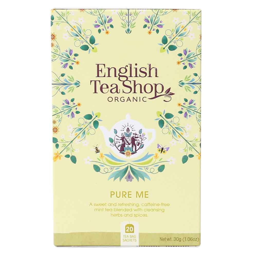 English Tea Shop Organic Wellness Pure Me Tea
